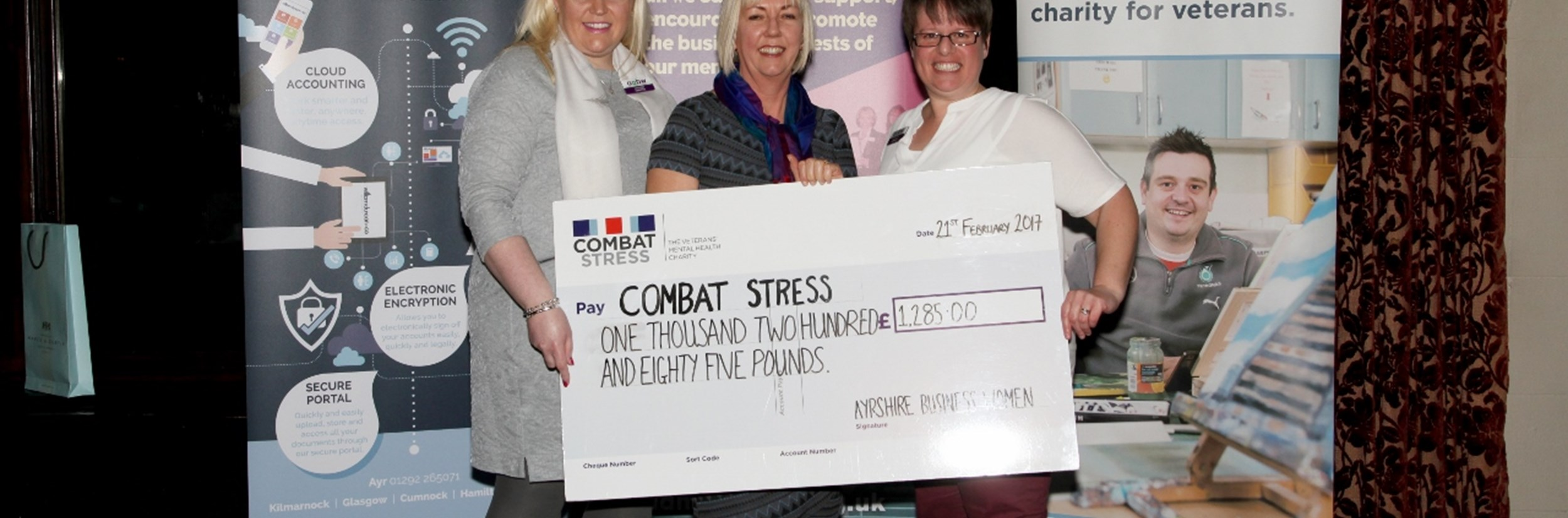 Charity Donation to Combat Stress