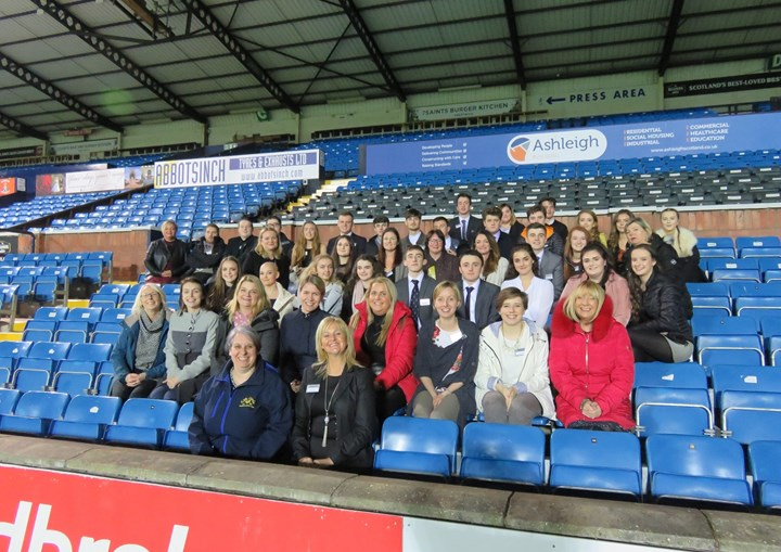 The Day ABW Visited Kilmarnock Football Club